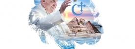 Logotipo da viagem do Papa ao Egito é dedicado à paz