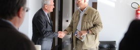 Secretário-geral da CNBB oferece texto-base da Campanha da Fraternidade ao ministro da Segurança Pública