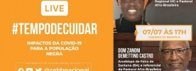 """Live CNBB debate os """"Impactos da Covid-19 para a população negra"""""""