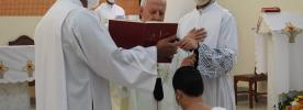 Leiga da Arquidiocese realiza voto temporário de Consagração Virginal