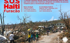 """Arquidiocese de Juiz de Fora adere à campanha """"SOS Furacão no Haiti"""""""