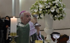 Dom Gil preside missa em ação de graças por aniversário de ordenação episcopal