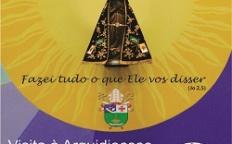 Imagem peregrina de Nossa Senhora Aparecida visita a Forania Santo Antônio