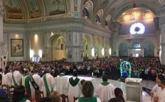 Peregrinação à Porta Santa da Catedral reúne multidão de fiéis da Forania Nossa Senhora da Conceição
