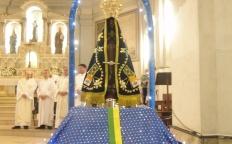 Imagem Peregrina de N. Sra. Aparecida chega a Catedral