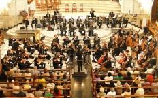 Orquestra Sinfônica de Minas Gerais se apresenta na Catedral