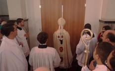 Arquidiocese ordena um padre e um diácono no dia do fechamento da Porta Santa