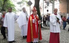 Comunidade participa da procissão e Missa de Ramos