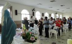 Dom Gil ministra palestra no terceiro e penúltimo encontro da Catequese Marial
