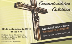 Inscrições abertas para Retiro de Comunicadores Católicos da Província Eclesiástica de Juiz de Fora