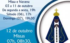 Padroeira do Brasil é celebrada na Catedral Metropolitana