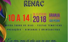 Grupo Jovem RenaC abre inscrições para Retiro de Carnaval 2018