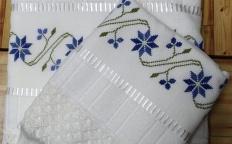 Sorteio: Quer ganhar um jogo de toalha bordado?