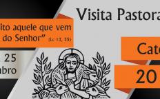 Dom Gil realiza Visita Pastoral na Paróquia Santo Antônio - Catedral