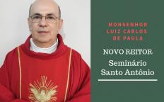 Arcebispo anuncia novo Reitor do Seminário Santo Antônio