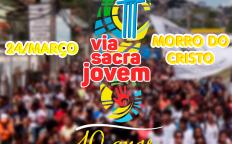 10ª Via-Sacra Jovem ao Morro do Cristo será neste domingo, dia 24