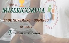 Missa da Misericórdia acontece no próximo domingo