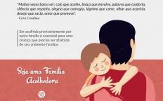Campanha divulga inscrições para serviço 'Famílias Acolhedoras' em Juiz de Fora