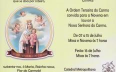 OTC celebra Novena e dia de Nossa Senhora do Carmo