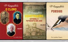 """Padre de Juiz de Fora reúne, em três livros, temas divulgados pelo jornal """"O Lampadário"""""""