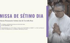 Missa de sétimo dia de Diácono Antônio será nesta quinta-feira (24)