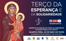 Pela primeira vez, Terço da Esperança e da Solidariedade será transmitido ao vivo por rádios e TVs católicas