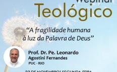 """""""A fragilidade humana à luz da Palavra de Deus"""" é tema de palestra virtual gratuita"""
