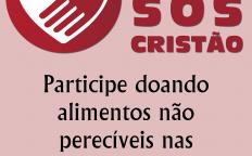 Próximo domingo é dia de SOS Cristão