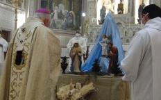 Vigília de Natal reúne número reduzido de fiéis na Catedral