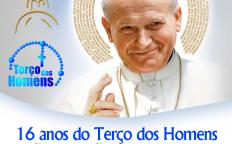 Terço dos Homens São João Paulo II celebra 16 anos com programação especial