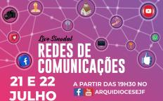 Live Sinodal da Comunicação acontece a partir dessa quarta-feira (21)