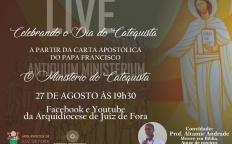 'Live' recorda a instituição do Ministério do Catequista por Papa Francisco