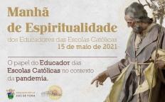 Educadores de escolas católicas participam de manhã de espiritualidade on-line