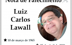 Nota de falecimento: Luiz Carlos Lawall