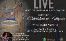 Mais uma live da série sobre o Diretório para a Catequese acontece nesta sexta-feira (28)