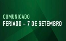 Comunicado: Funcionamento da Catedral durante o feriado prolongado de 07 de setembro