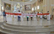 Famílias das escolas católicas reúnem-se em Missa na Catedral